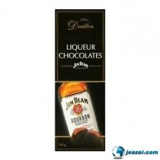 Doulton JIM BEAM Bourbonnal töltött csokoládé praliné 150g