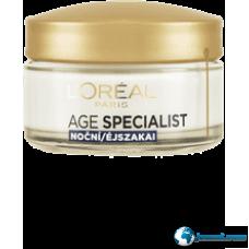 L'Oréal Age Specialist ránctalanító tápláló éjszakai arckrém 65+ 50 ml